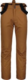 Hnědé pánské lyžařské kalhoty RESTFUL - NBWP7330