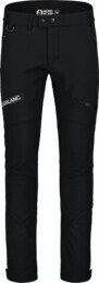 Men's black softshell pants with fleece STERN - NBFPM7367