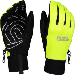 Green softshell gloves VIGOUR - NBWG4700
