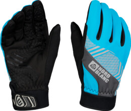 Blue softshell gloves POINETR - NBWG6360