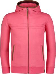 Ružová detská mikina LOYAL - NBFKS7075L