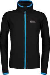 Černá dětská lehká softshellová bunda UNIT - NBSSK6272S