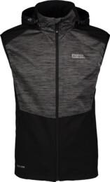 Černá pánská sportovní vesta SIGHTLY - NBSSM6612