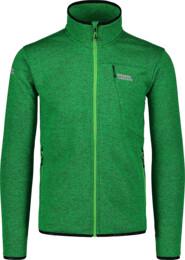 Men's green sweater fleece CUSTOM