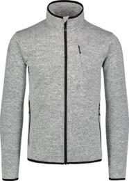 Men's white sweater fleece CUSTOM