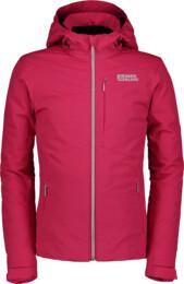 Červená detská lyžiarska bunda TIDY - NBWJK6463S