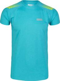 Kék férfi póló futáshoz PROMPT