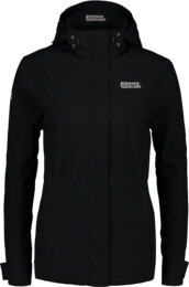 Fekete női outdoor dzseki/kabát INNATE
