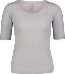 Šedé dámské fitness tričko LAX
