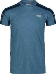 Kék férfi póló futáshoz SENSIBLE