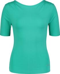 Tricou verde de yoga pentru femei CHUTE