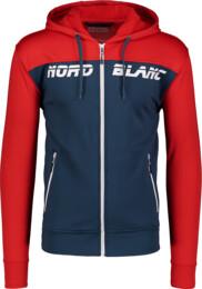 Men's red power fleece jacket OUTLINE - NBSMS6195
