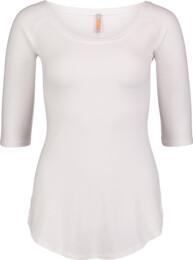 Fehér női elasztikus póló CALYX