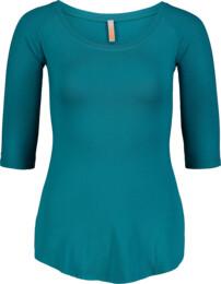 Zelené dámské elastické tričko CALYX