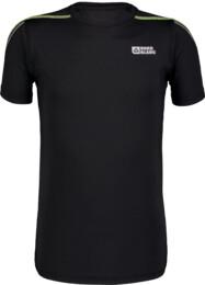 Černé dětské funkční tričko REFLECT