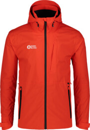 Men's orange outdoor jacket EVOKE - NBSJM7371
