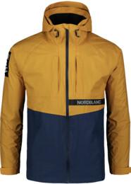 Jachetă ușoară galbenă de primăvară pentru bărbați POUCH - NBSJM7372