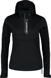 Women's black anorak HONEST - NBSJL7376