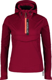 Women's wine red anorak HONEST - NBSJL7376