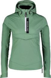 Women's green anorak HONEST - NBSJL7376