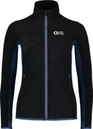 Women's black purple light fleece jacket MIST - NBSFL7380