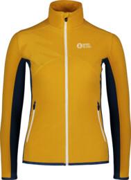 Hanorac ușor galben din fleece pentru femei MIST - NBSFL7380
