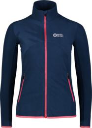 Women's blue purple light fleece jacket MIST - NBSFL7380