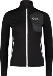 Women's black power fleece jacket ACME - NBSFL7381