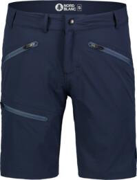 Modré pánské outdoorové kraťasy ALLDAY
