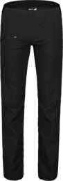 Women's black ultra lightweight outdoor pants HIKER - NBSPL7416