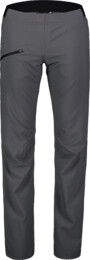Women's grey ultra lightweight outdoor pants HIKER - NBSPL7416