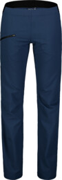 Women's blue ultra lightweight outdoor pants HIKER - NBSPL7416