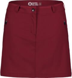 Červená dámská outdoorová šortko-sukně ENIGMATIC - NBSSL7420