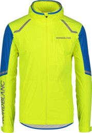 Men's yellow waterproof ultra light bike jacket MECHANISM - NBSJM7421