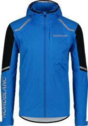 Kék férfi vízálló ultrakönnyű kerékpáros dzeki/kabát MECHANISM - NBSJM7421