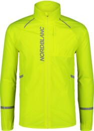 Sárga férfi ultrakönnyű kerékpáros dzeki/kabát CLIMB - NBSJM7424