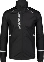Fekete férfi ultrakönnyű kerékpáros dzeki/kabát CLIMB - NBSJM7424
