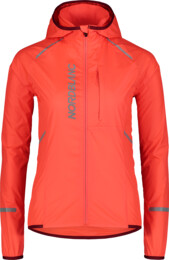 Women's orange ultra light bike jacket FLEET - NBSJL7426