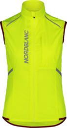 Vestă ultra-ușoară galbenă de ciclism pentru femei ROAMER - NBSJL7428