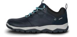 Modré dámské kožené outdoorové boty DONA - NBSH7442