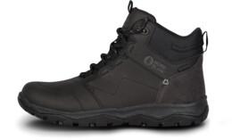 Černé dámské kožené outdoorové boty PRIMADONA - NBSH7443