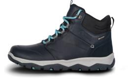 Modré dámske kožené outdoorové topánky PRIMADONA - NBSH7443