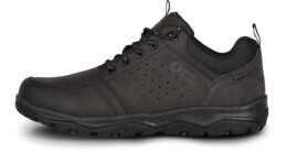 Men's black outdoor leather shoes PRIMO - NBSH7444