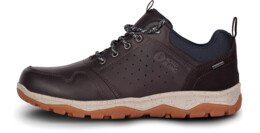 Men's brown outdoor leather shoes PRIMO - NBSH7444