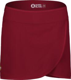 Fustă scurtă roșie sport pentru femei SOPHISTICATED - NBSSL7419