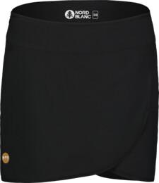 Fustă scurtă neagră sport pentru femei SOPHISTICATED - NBSSL7419