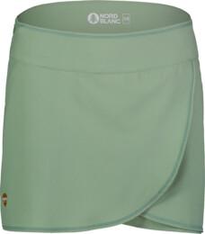 Fustă scurtă verde sport pentru femei SOPHISTICATED - NBSSL7419