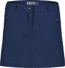 Modrá dámská outdoorová šortko-sukně ENIGMATIC - NBSSL7420