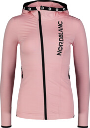 Women's pink power fleece jacket NOISY - NBSFL7382