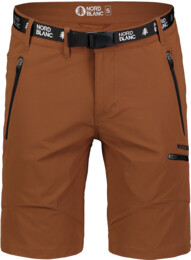 Men's brown outdoor shorts BUCKLE - NBSPM7410